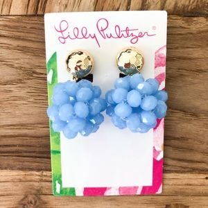 LILLY PULITZER CALIENTE CLIP ON EARRINGS
